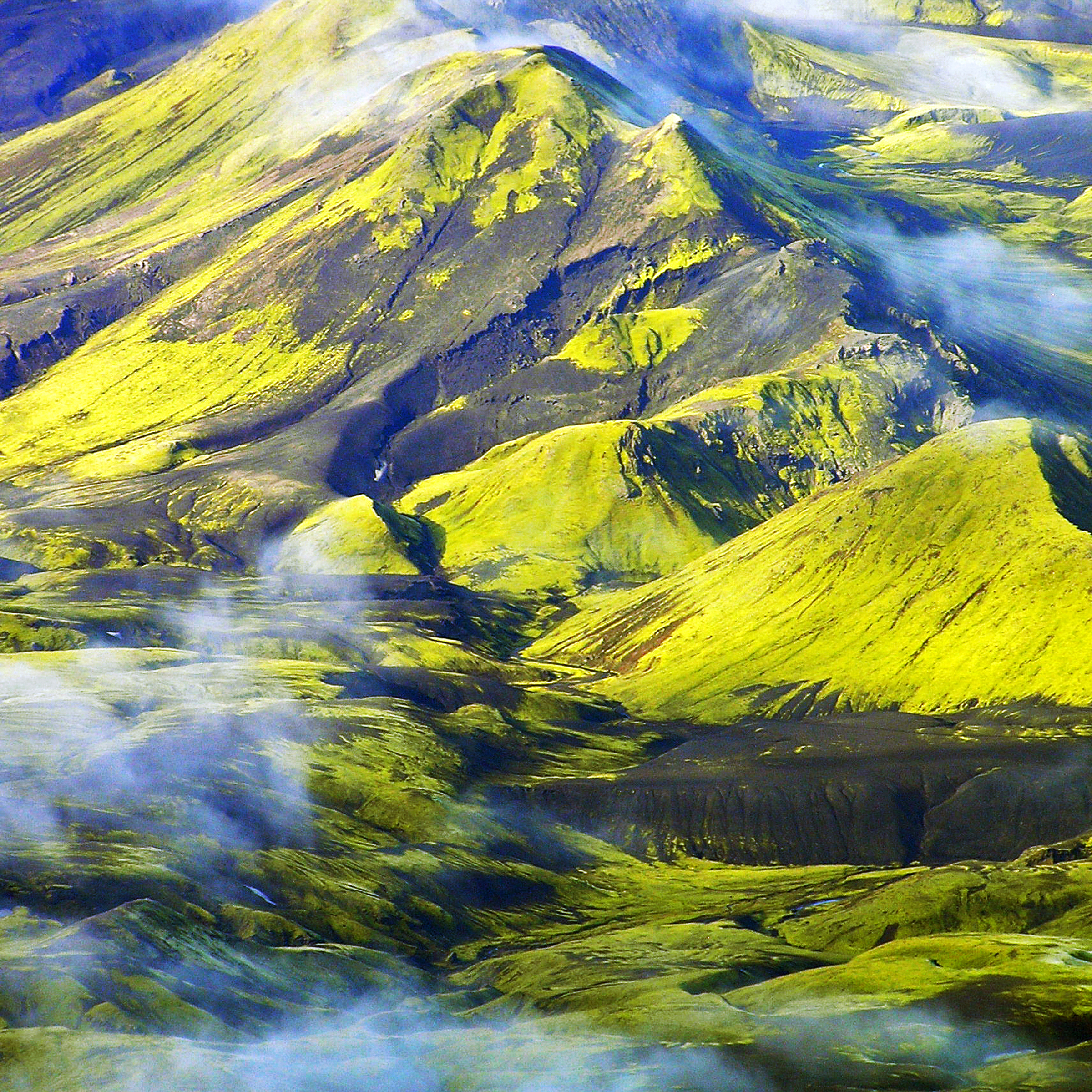 Landmannalaugar and surroundings
