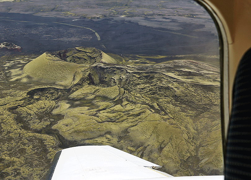 Laki Craters and surroundings