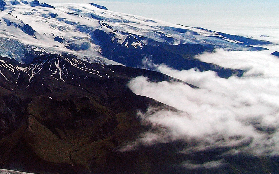 Eyjafjallajökull and the surroundings