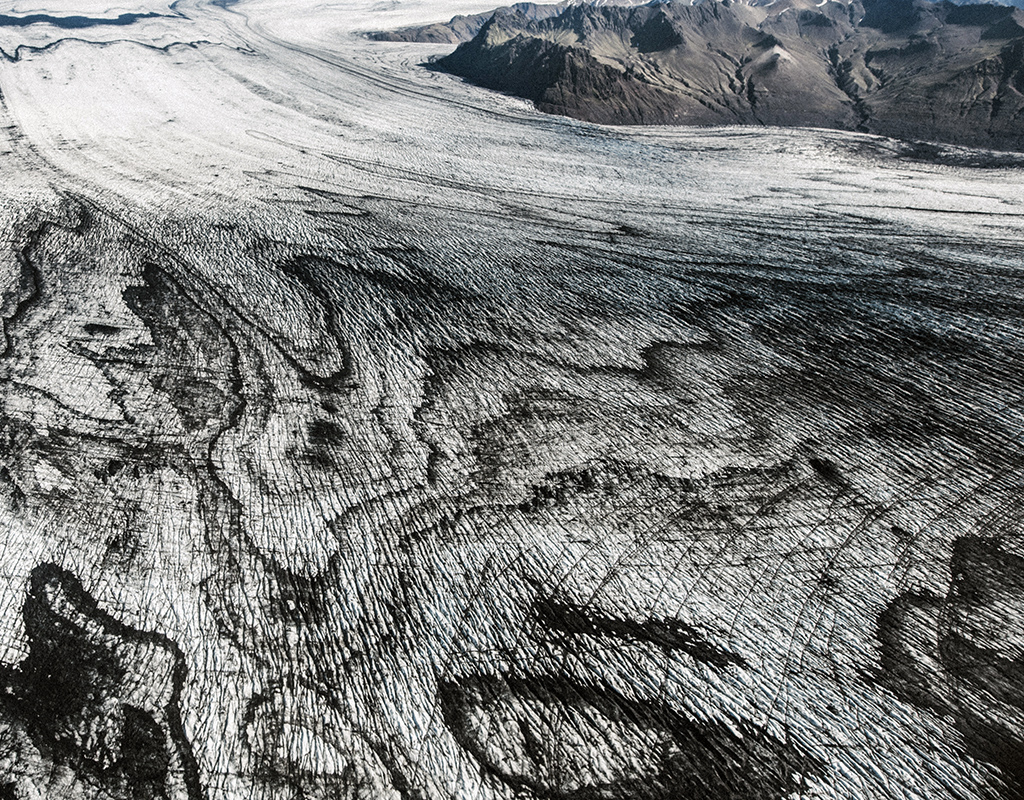Patterns of Vatnajokull