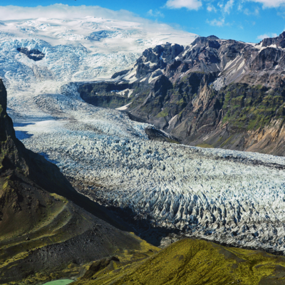 Air tours Glacier Skaftafell
