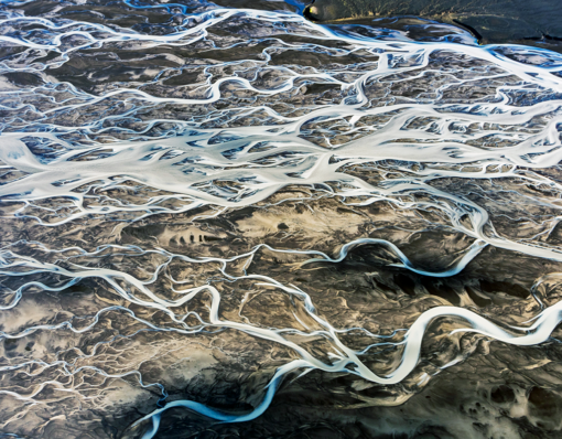 Riverbeds Aerial